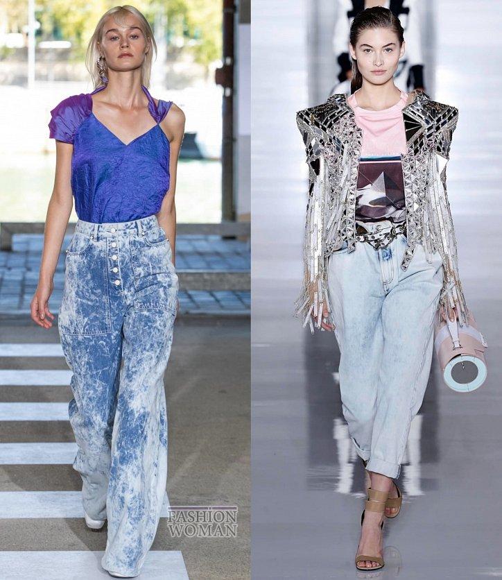 Модные джинсы весна-лето 2019 фото №3