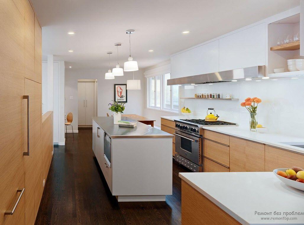Полный набор способов иллюминации кухни