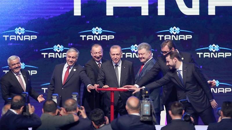 Алиев и Эрдоган запустили газопровод TANAP