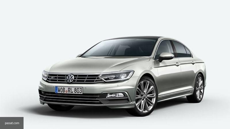 Volkswagen презентует обновленный Volkswagen Passat