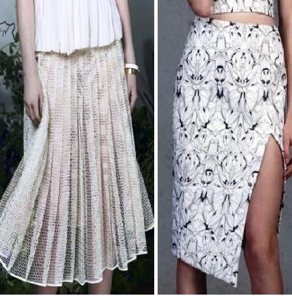 Модные юбки летнего сезона 2017 — обзор новинок от мировых дизайнеров