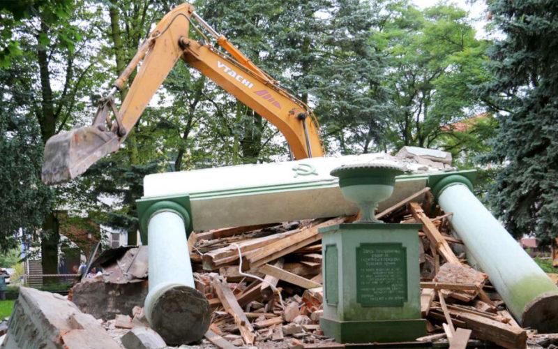 В Польше расследуют незаконное уничтожение могилы советских воинов