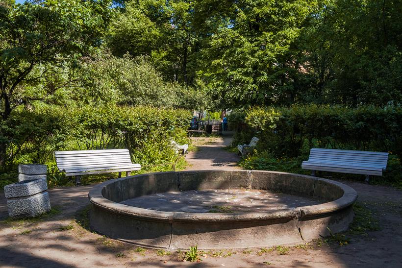 Секретный сад в Санкт-Петербурге
