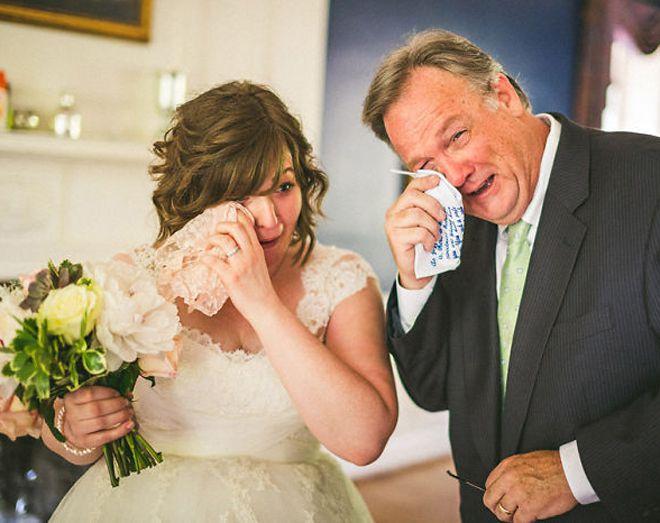 невестам в день свадьбы