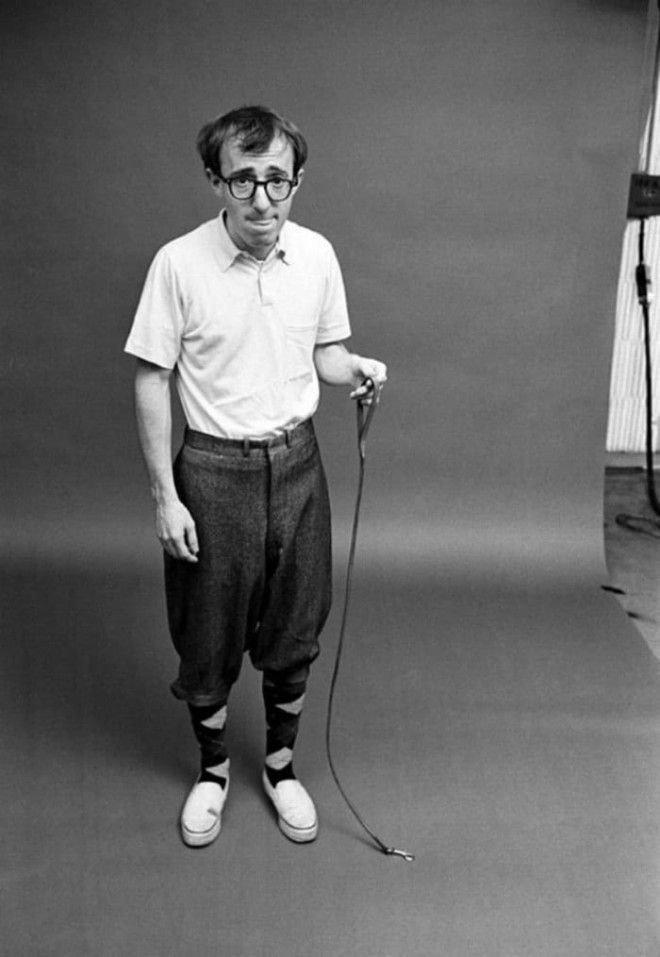 Вуди Аллен с муравьём на поводке, Нью–Йорк, 1964 год история, факты, фото