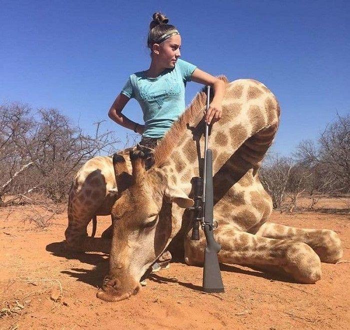 12-летняя охотница хвастаетс…