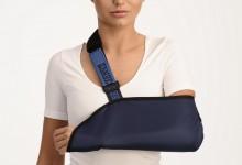 Косыночная повязка на руку при переломе
