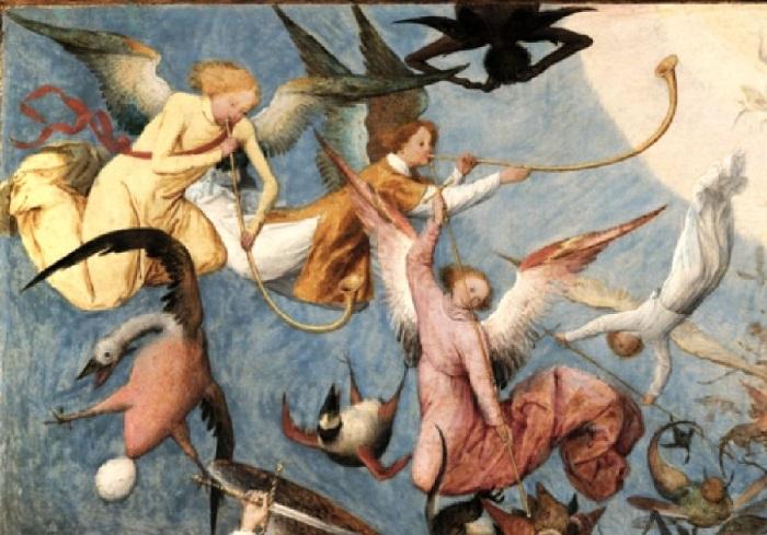 О чём рассказал Брейгель Старший на своей картине «Падение мятежных ангелов» Символизм, тайны и парадоксы шедевра