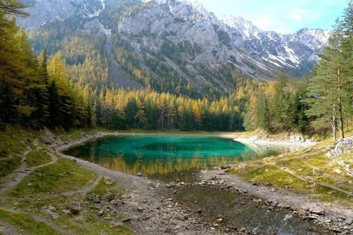 Зеленое озеро – излюбленное …