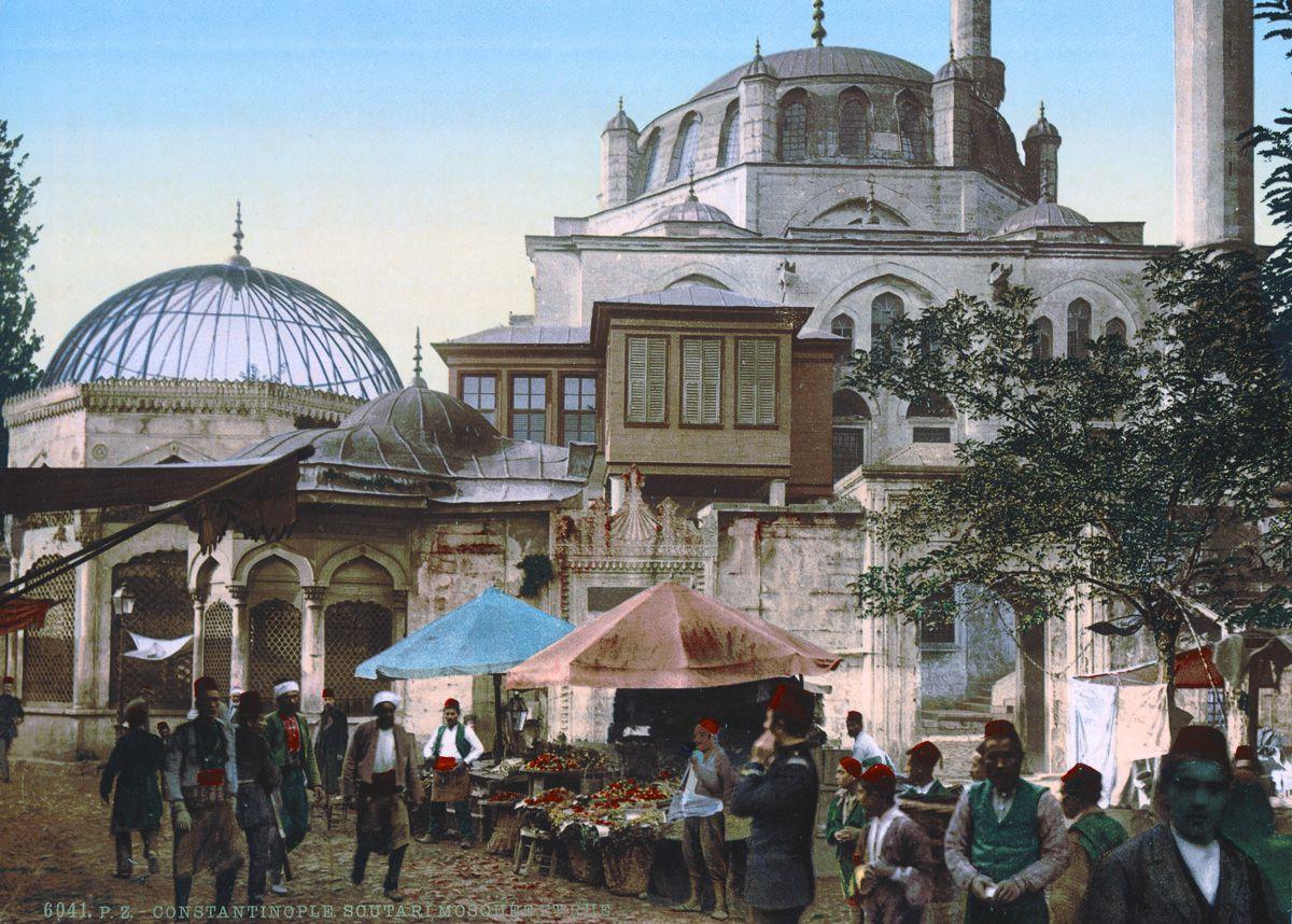 константинополь открытки 19 века практически влетело