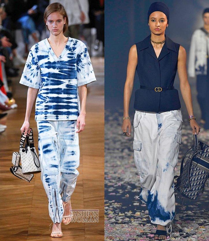 Модные джинсы весна-лето 2019 фото №1