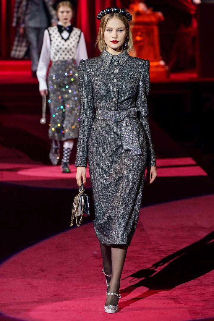 Коллекция Dolce & Gabbana осень-зима 2019-2020