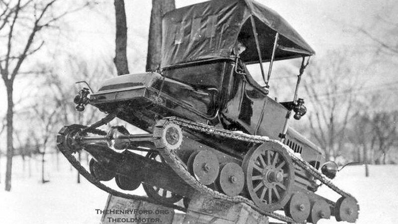 1918, Генри Форд, модифицированная Модель Т, «Универсальный Автомобиль».