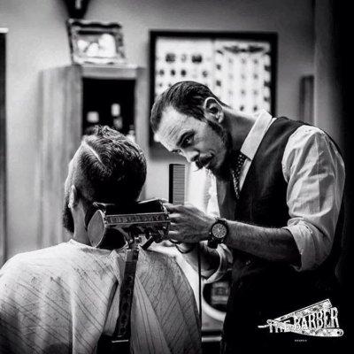 Старый парикмахер