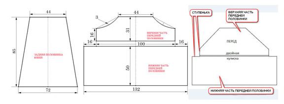 Большая подборка схем-выкроек для бохо бохо