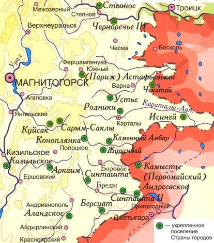 Русская страна городов - современница цивилизации Мохенджо-Даро
