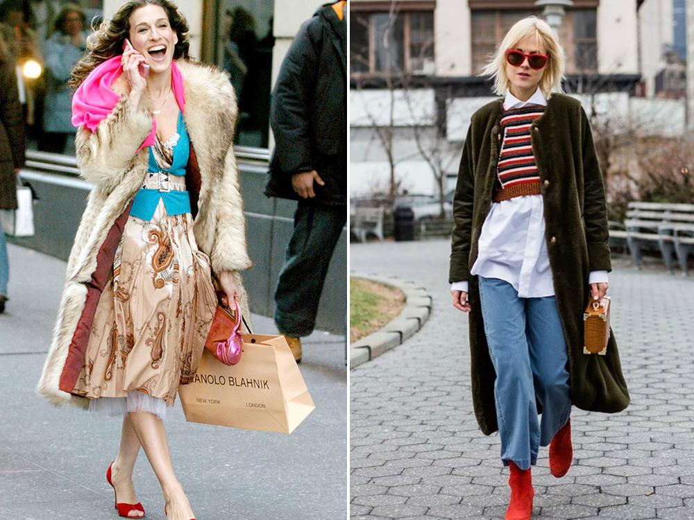 модные образы керри бредшоу