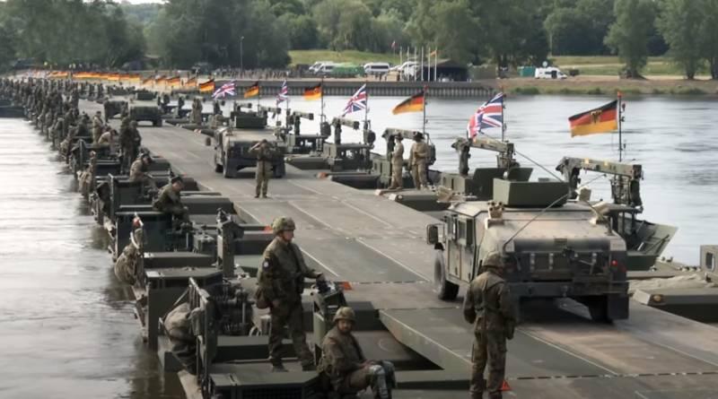 «Это была почти самоликвидация»: польский генерал о переправе войск НАТО на «российском фронте» армия