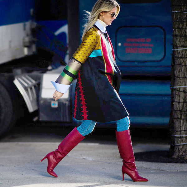 Модно и тепло: выбираем женские сапоги на весну