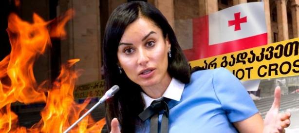 Тина Канделаки призвала не поджигать мост с Грузией с российской стороны
