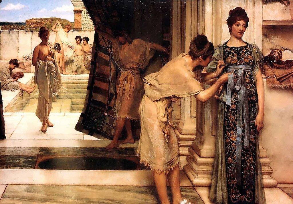 Древнеримские бани: какими они были и что в них делали?