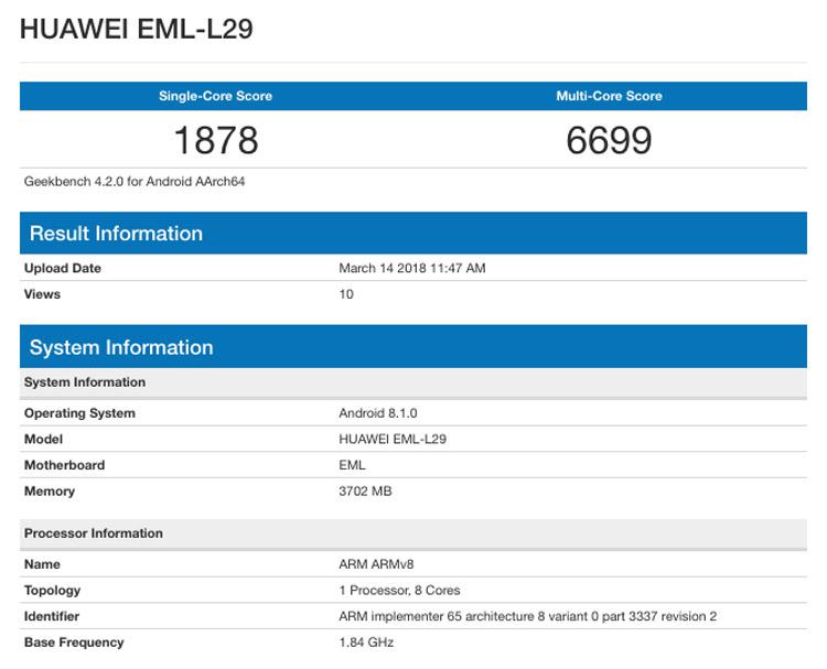 Производительность Huawei P2…
