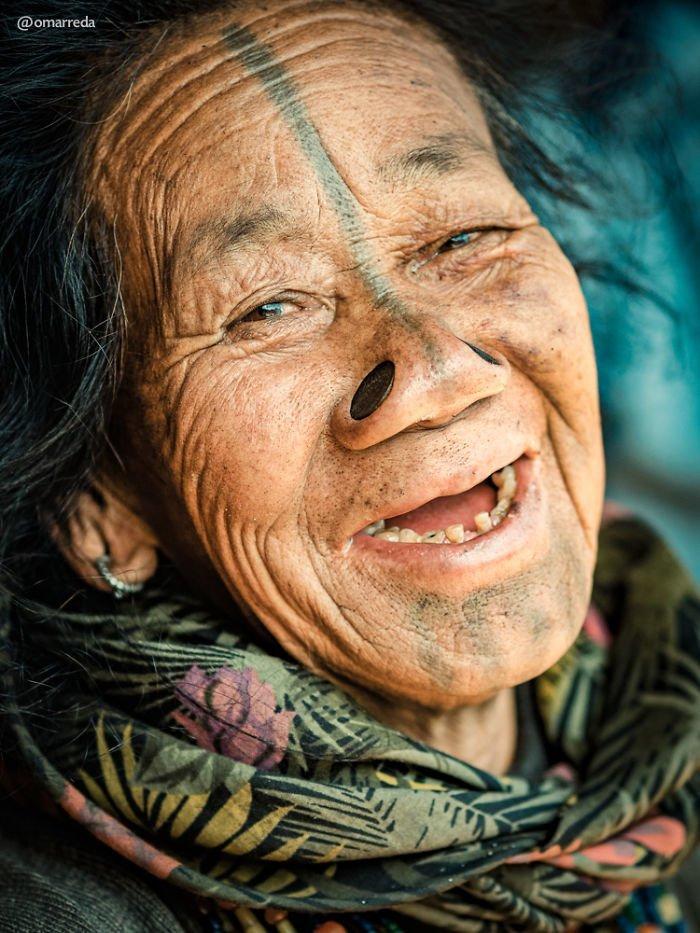 4. апатани, женщина, индия, народ, портрет, традиция, фотография, фотомир