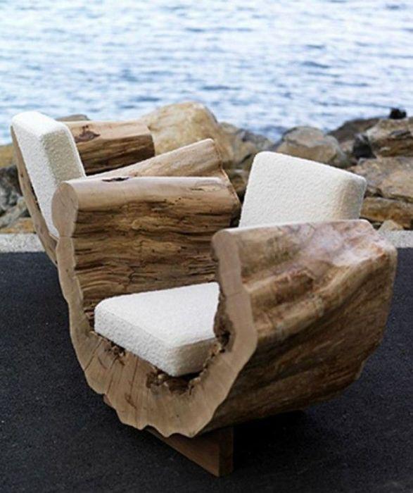 Дачная мебель своими руками из подручных материалов и бросовых вещей