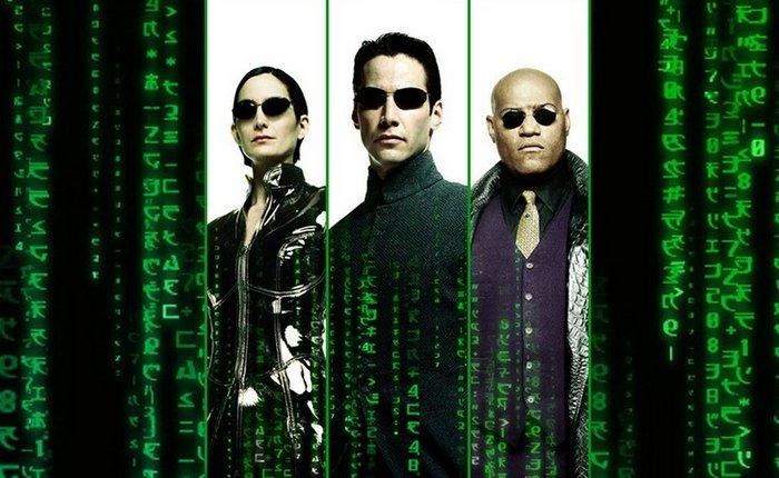 Кадр из фильма «Матрица».