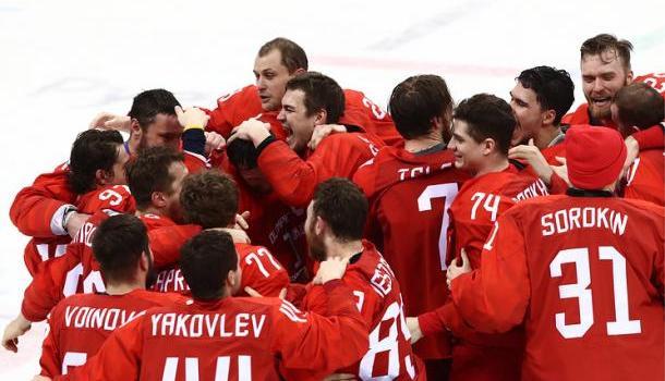 Олимпийский финал Россия — Г…