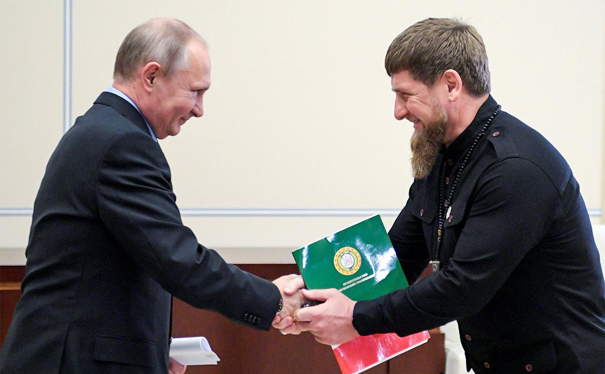 Путин выполнил просьбу Кадырова и передал Чечне нефтяную компанию