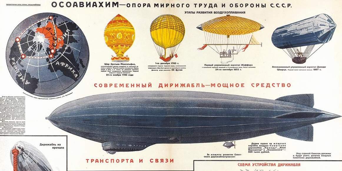 В-6: жизнь и смерть самого большого дирижабля Советского Союза