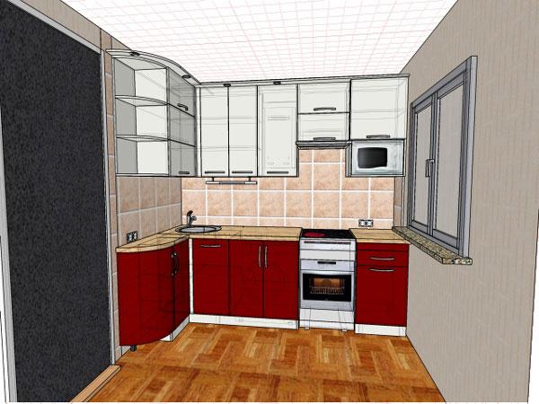 Кухня для будущей тёщи. Алексей Шеремет
