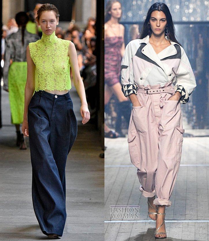 Модные джинсы весна-лето 2019 фото №7