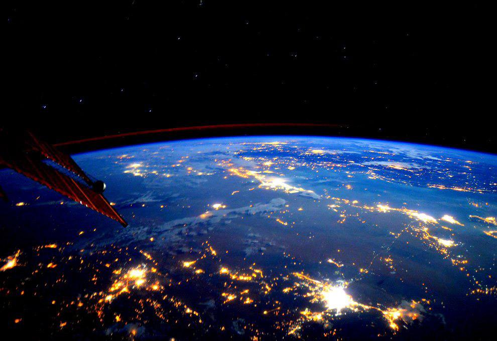 Последнее фото с космоса земли