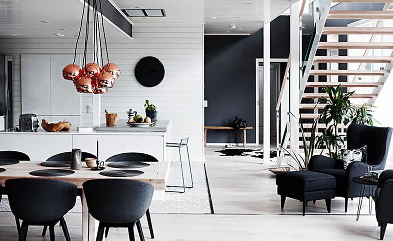 Изящный финский дом