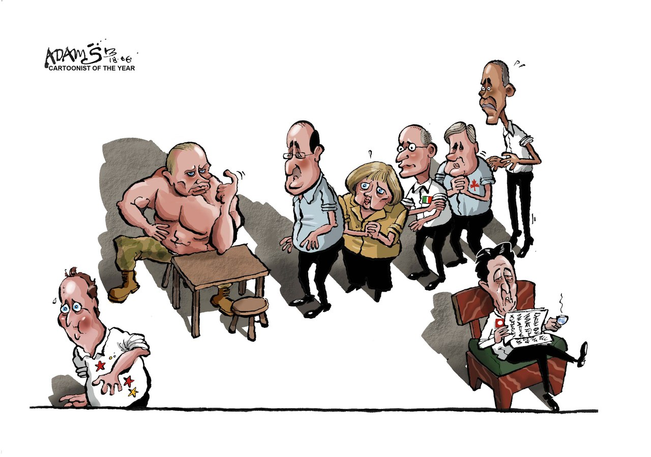 Обама против Путина - все равно что болонка против питбуля