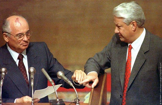 Горбачев рассказал о резавшем вены Ельцине