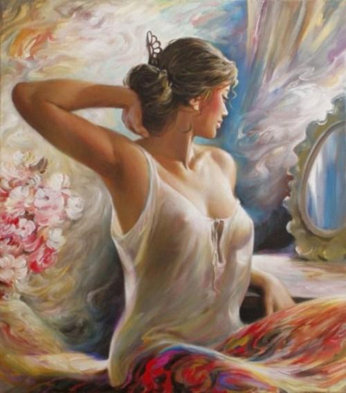 женский образ Аркадий Острицкий - 13