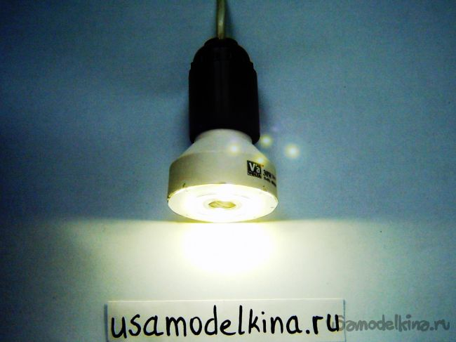 Лампа светодиодная на 220В