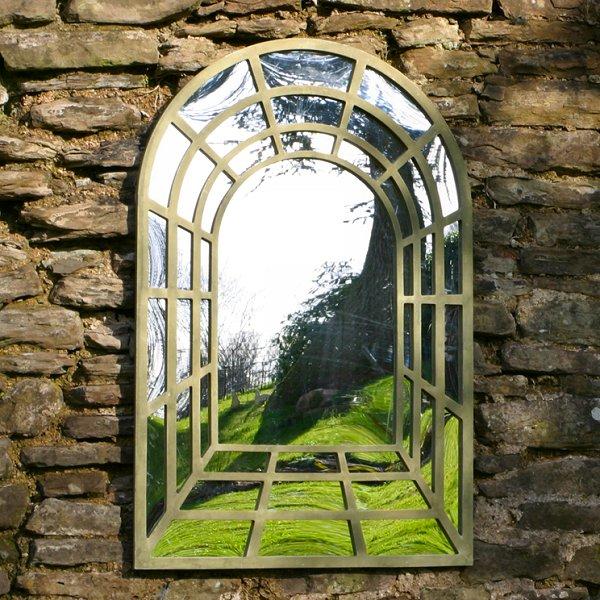 Зеркала в ландшафтном дизайне