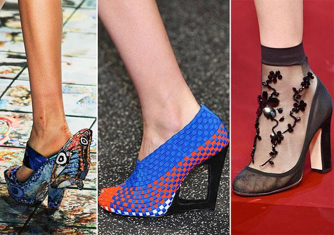 1d59c2dc5 Тенденции обуви весна/лето 2015. Самая модная обувь нового сезона