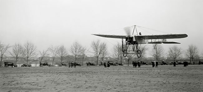 Французский самолет Antionette, 1915 интересно, исторические кадры, исторические фото, история, ретро фото, старые фото, фото