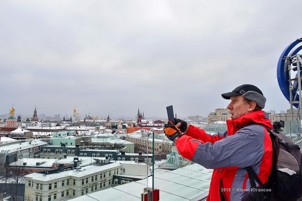Я залез на крышу. Москва с высоты