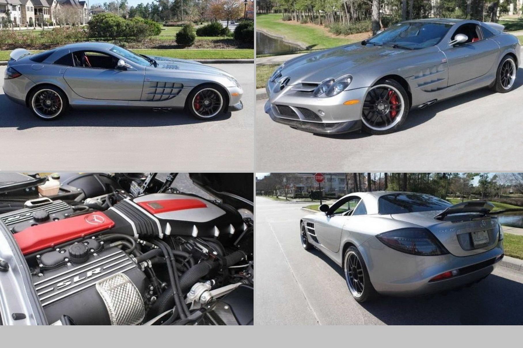 В США пустили с молотка Mercedes-Benz SLR McLaren Майкла Джордана Новости