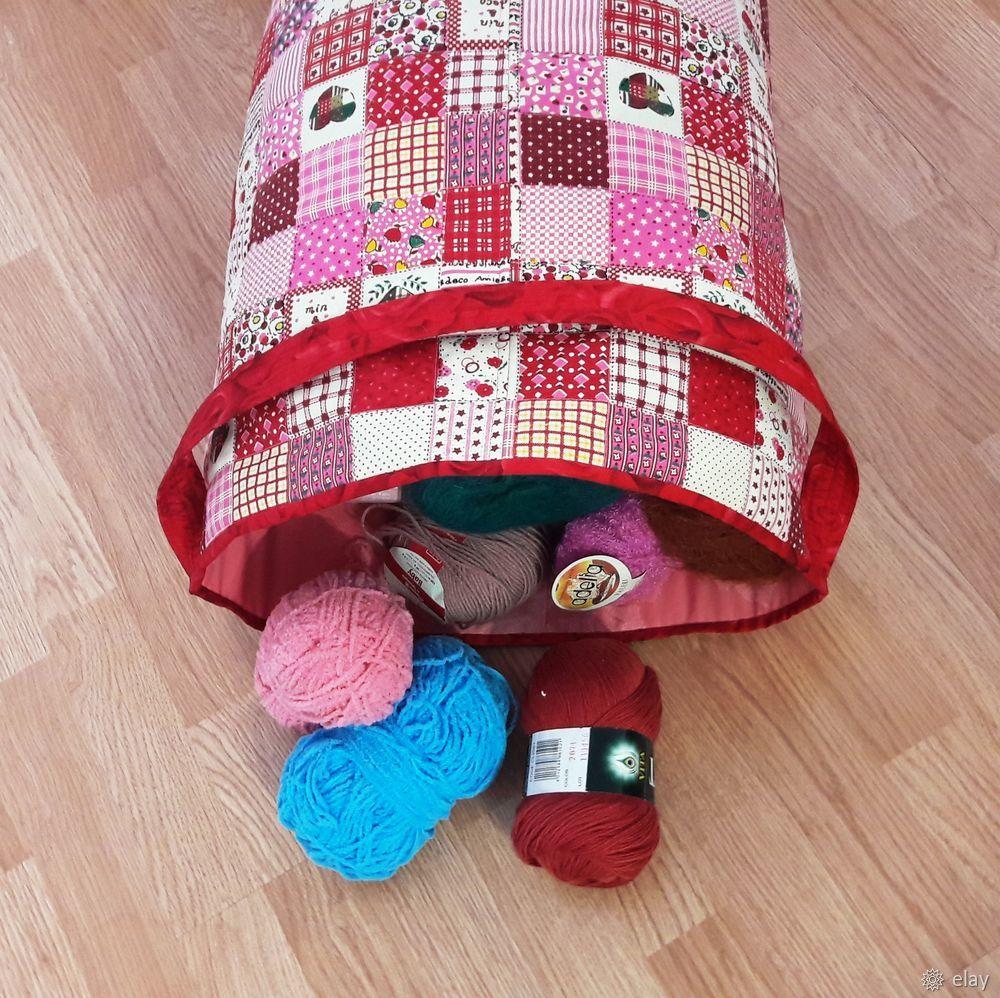 Шьем контейнер для игрушек