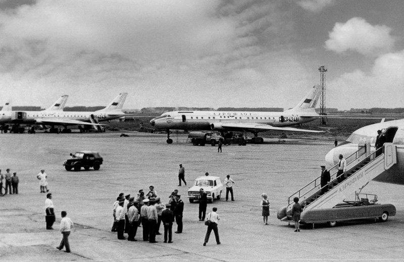 На воздушных кораблях - рассказ КВС Ту-104