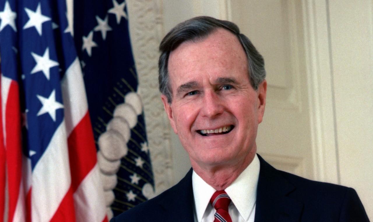 Джордж Буш-старший скончался…