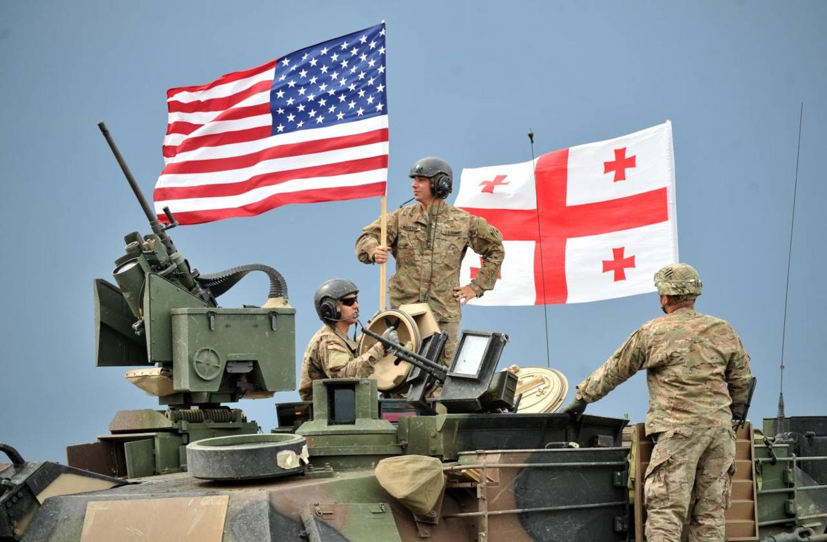 Военные США в Грузии. Источник изображения: https://vk.com/denis_siniy