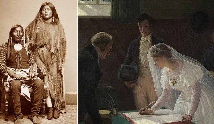Зачем одной женщине было несколько мужей и другие странные брачные традиции брак,история,народы,общество,полигамия,традиции